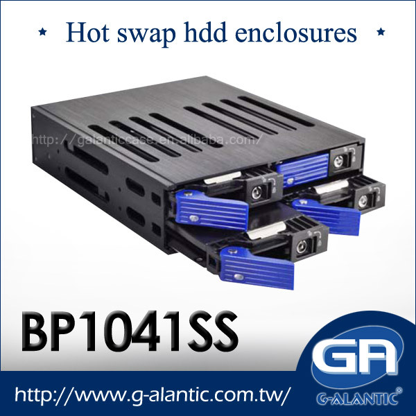 BP1041SS 4 bays rack mount hot swap storage server case industrial chassis SATA SAS backplane