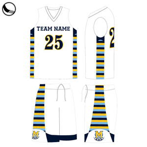 custom reversible basketball jersey design template