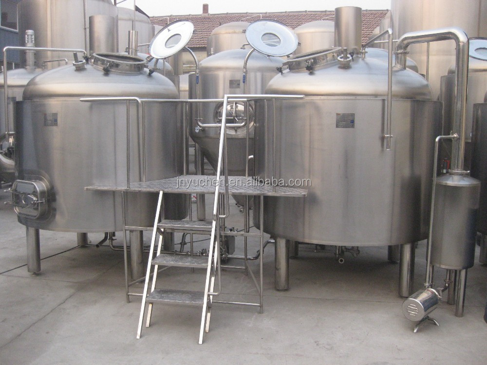 2000L complete beer brewing equipment, craft brewery equipment system, beer fermenter tank