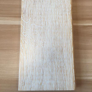 Embossed clicked parquet white oak bamboo flooring
