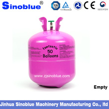22.4Lempty safe disposable helium cylinder filled helium gas for 1.2mm thickness,helium tank for sale