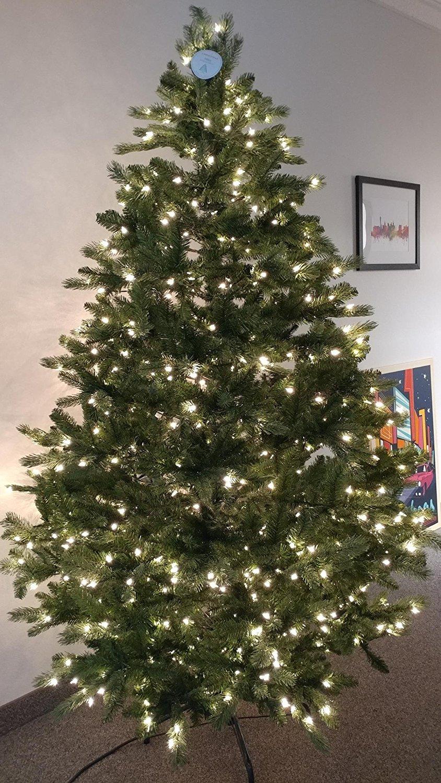 7 12 Foot Dunhill Fir Pre Lit Christmas