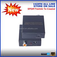 coaxial digital output to optical input converter