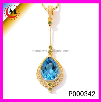 Gold pendant designs menbig stone pendnat designlarge blue topaz gold pendant designs menbig stone pendnat designlarge blue topaz pendant mozeypictures Images