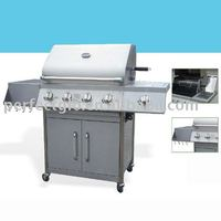 gas barbecue 4B+SB Stainless Steel grill
