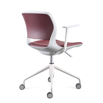 Admirable Modern Mid Back Leather Swivel Chair Office Furniture Buy Swivel Chair Office Furniture Leather Swivel Chair Modern Leather Swivel Chair Product On Machost Co Dining Chair Design Ideas Machostcouk