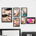 Fashion Beauty Make Up Nail Girl Canvas Paintings Wall Art Pictures Poster Print Drop Shipping