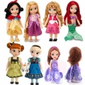 Princess Animators Sharon Doll Princess Sofia Snow White Ariel Rapunzel Merida Cinderella Aurora Belle Princess dolls