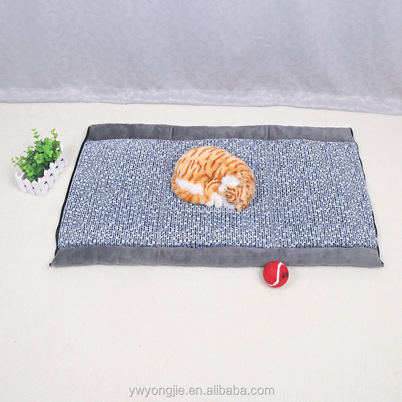 10 Years Experience Wholesale Pet Beds Plush Cat Dog Mats Foldable Dog Beds