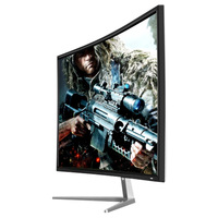 32 inch curved monitor with vga/dvi/hd mi input