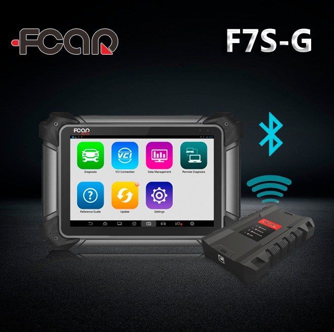 2018 on sale Fcar F7S-G Scan truck diagnostic scanner 2 year free update