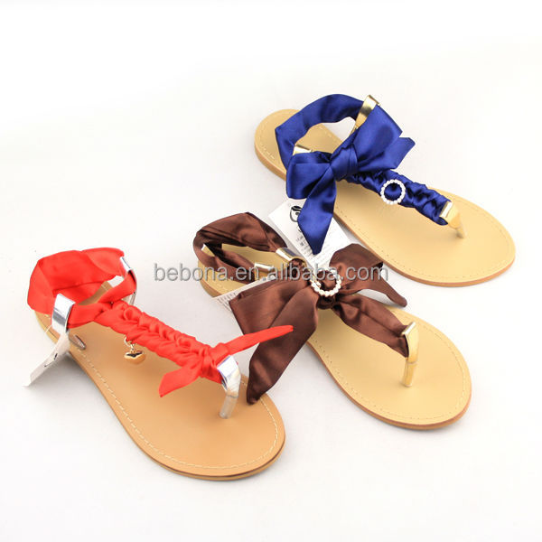 2016 Latest Design Diy Latest Flat Sandals For Ladies Pictures ...