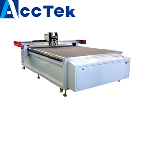 ACCTEK Hot sale vibrating knife cutter/ oscillating knife leather cutting machine