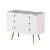 Scandinavian furniture Wooden Chest Of Drawers 3 Drawer Wood Small White Corner Storage Cabinet design