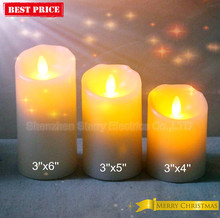 hot sale party candle with moving flame