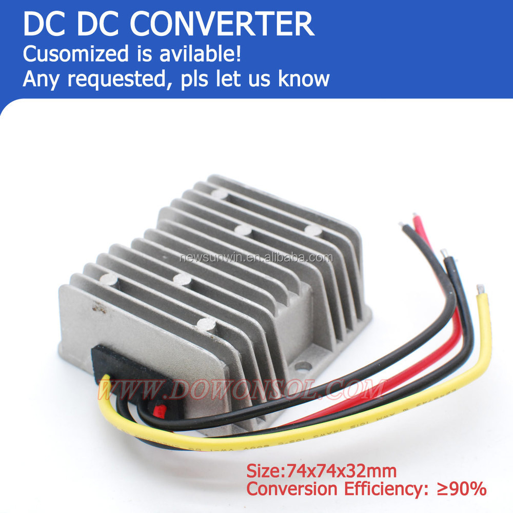 dc to dc step-up converter 150W 12v boost 48v 3A small size