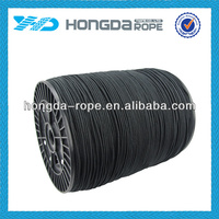 black braided 2mm nylon rope spool in 200 meter