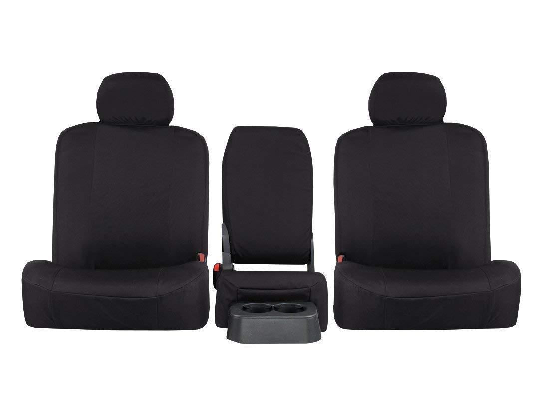 Nylon Carpet Coverking Custom Fit Front Floor Mats for Select Plymouth Prowler Models Black