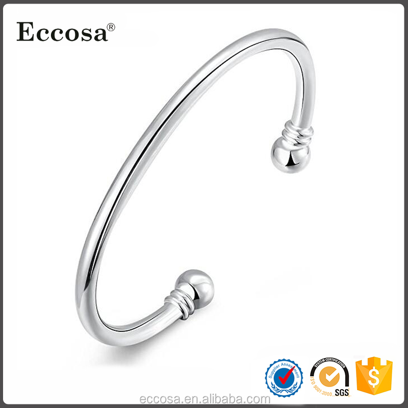 Factory Direct Sale Custom x power energy bracelet 925 sterling silver wholesale expandable bangle