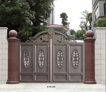 2016 decorative aluminum gates prices main entrance gate for Aluminum driveway gates prices