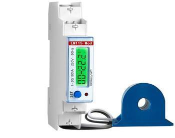 Em115-mod Ct 230v Ac 100a/0 33v Digital Display Single Phase Electric Ct  Meter Price - Buy Single Phase Electric Meter Price,Digital Display Mete,Ct