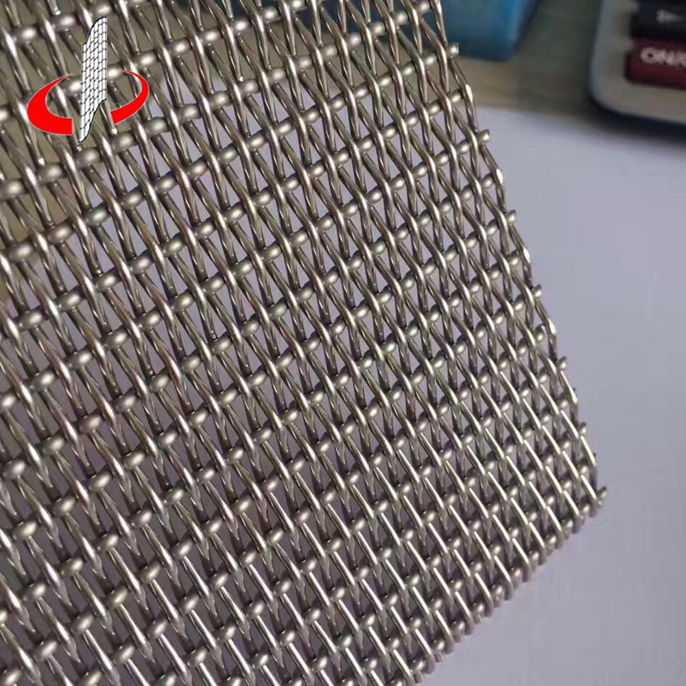 Stainless Steel Decorative Woven Wire Deco Metal Architectural Mesh Screen