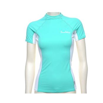 765b79c5c2085 Long sleeve skin protection women swimming shirt anti uv rash guards shirt  lady rashguards swimwear UPF