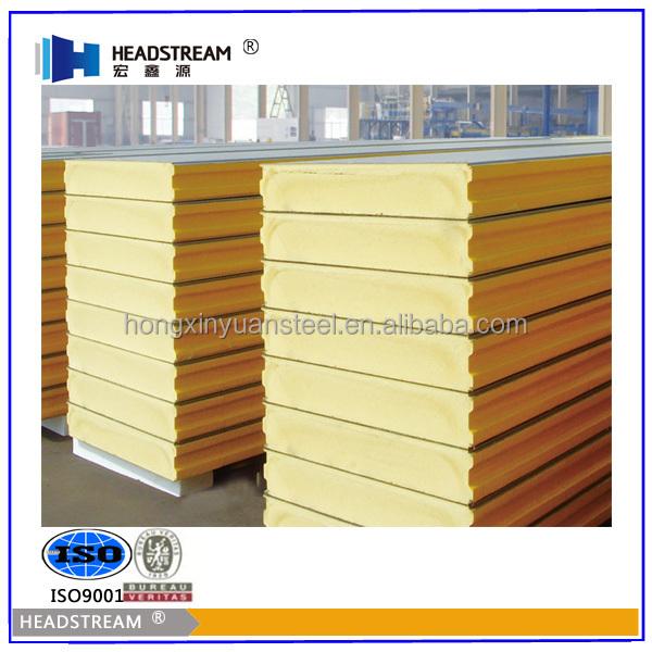 Poly Insulation Panels : Pu sandwich panel polyurethane foam board fireproof