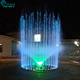 Customize Dia 4m Round Floating Pond Music Fountain In Lake With Led Lights