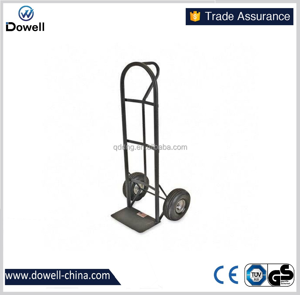 HT2015 Sparco D-Handle Hand Truck Heavy duty factory price supermarket dimensions hand trolley heavy duty firewood hand trolley