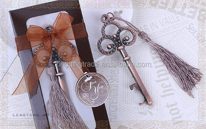 Key to My Heart Collection key design antique wedding bottle opener Wedding favos