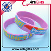 good looking chrismas gift kids personal silicone wristbands