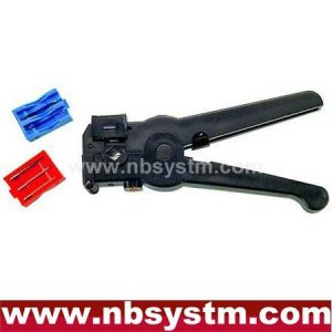 Coaxial Cable Cutter & Stripper(3-blade Model)