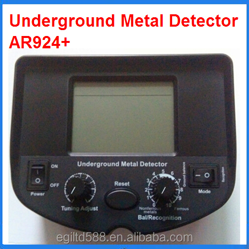 High Quality AR924+ Metal Detector Gold Digger Treasure Hunter under Ground Metal Detector