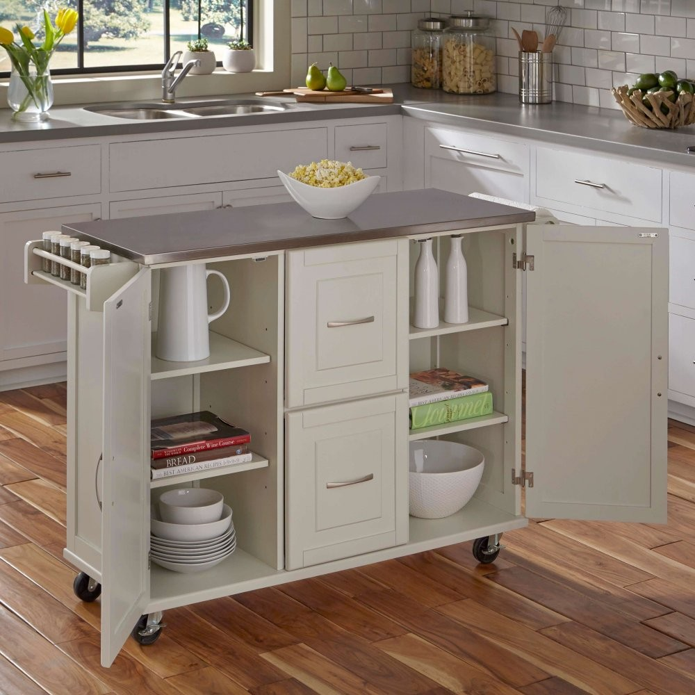 Chinese Factory Stainless Steel Top Mobile Kitchen Trolley Designs