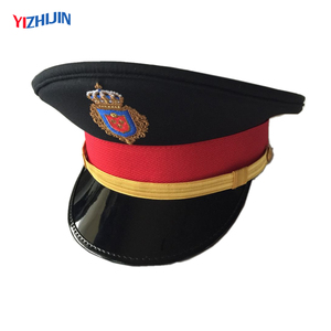 af3f2995b Customized Air Force Senior Warrant Officer Peaked Cap with Gold Embroidery