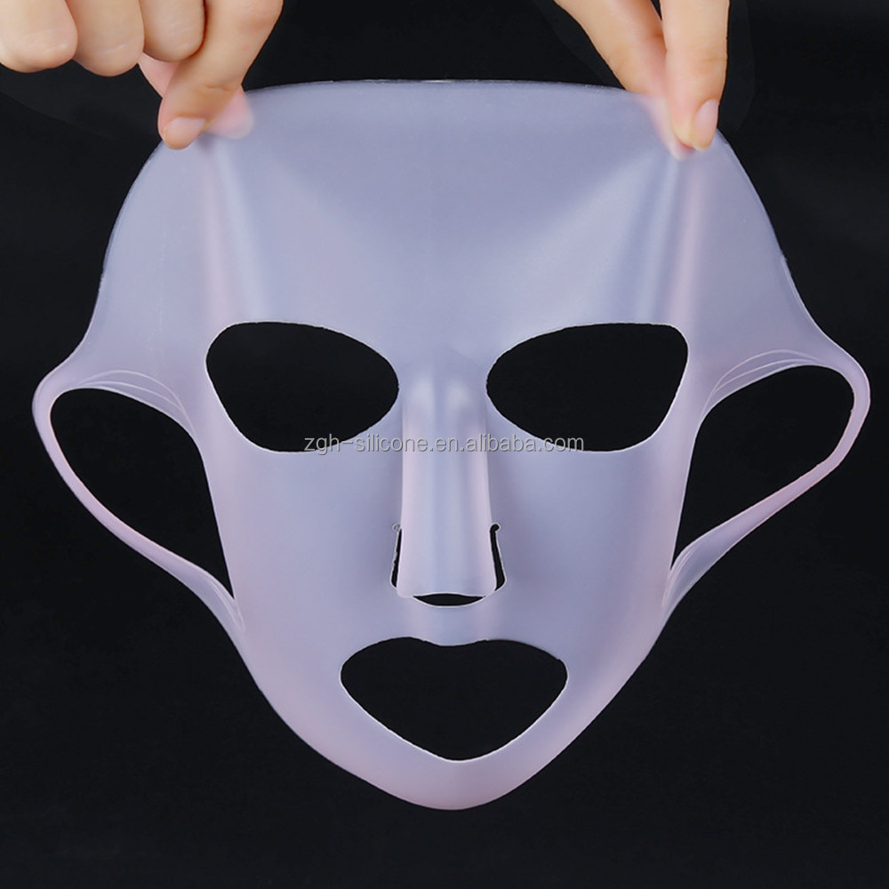 Fashion Women's Beauty Hydrating Mask Cover Silicone Face Mask