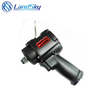 Landsky 1/2 Mini Pneumatic Wrench Light Large Torque Production Line Wrench,Professional Pneumatic Tools,Spanners Air Tools