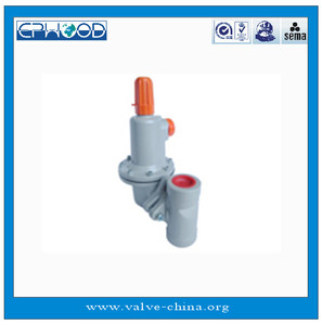 L627 Series Commercial / Industrial Regulator Natural gas pressure reducing  regulator