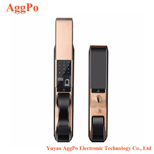 Automatic fingerprint lock household security smart door lock home electronic Biometric Smart fingerprint doorlock