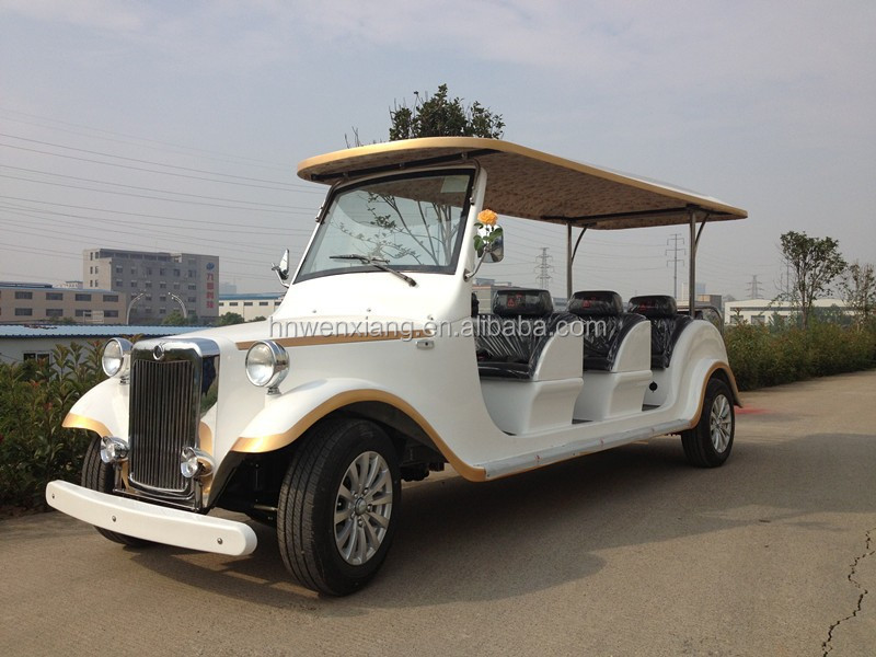 6 seats sightseeing vehicle for park from China high quality