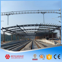 Steel Structure Space Truss Frame Station Prefab Cheap Warehouses Workshop Hall Apartment Supermarket From China Manufacturer
