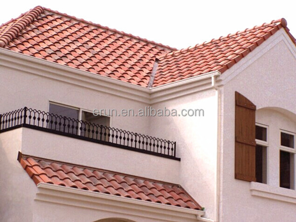Yixing Ceramic Roof Tile Price Hot Sale Roman Style Glazed