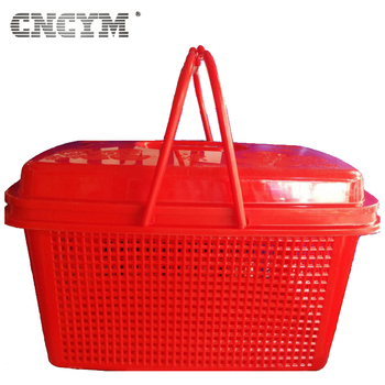 hot sale single cavity high quality injection mold household plastic picnic basket mould