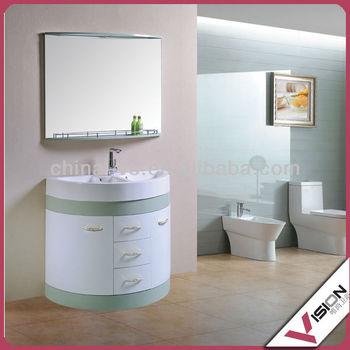Delicieux Semi Circle Bathroom Cabinet
