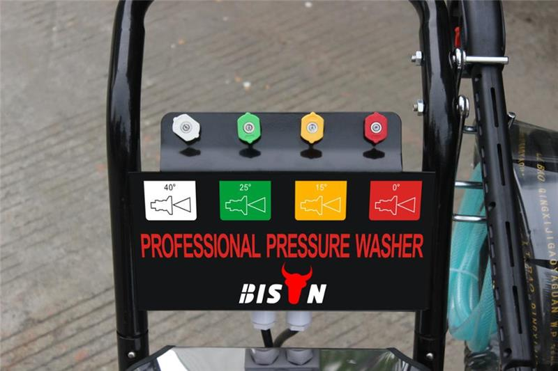 BISON BS2600 3.0 kw 170 bar 2500 psi Electric  Pressure  Car  Washer