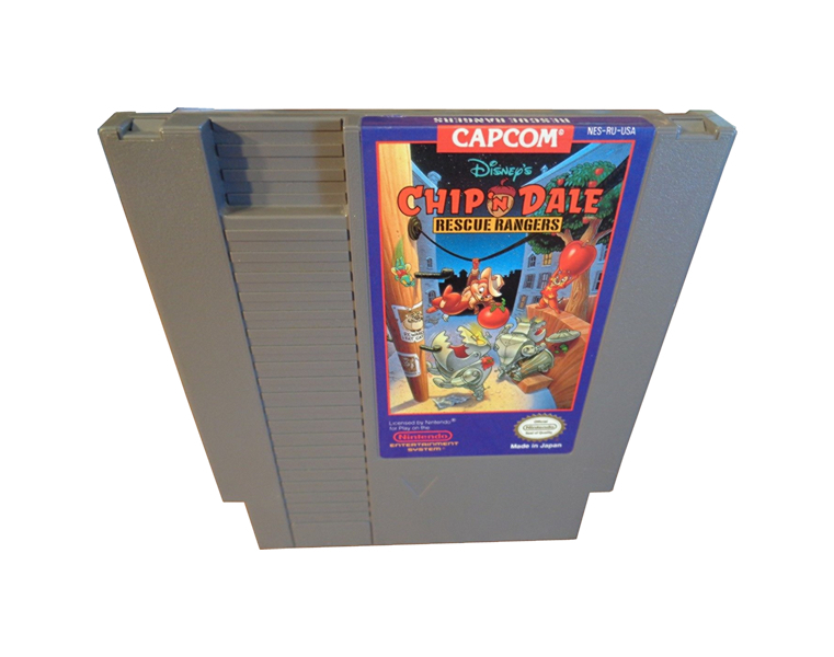 game cards : Chip'n Dale Rescue Rangers 1 ( USA version )