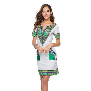 806d2421bf8 Wholesale Amazon Hot Selling African Kitenge Designs Woman Dresses ...