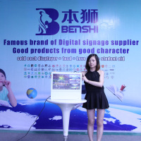 Thinest TFT Style and 16:9 Format 19 inch lcd advertising Screen