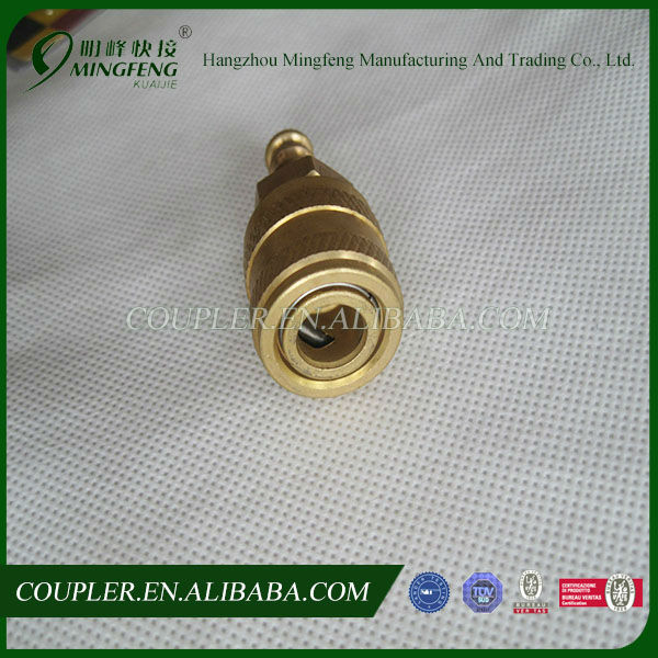 Brass Aro Quick Fitting With Hose Tail